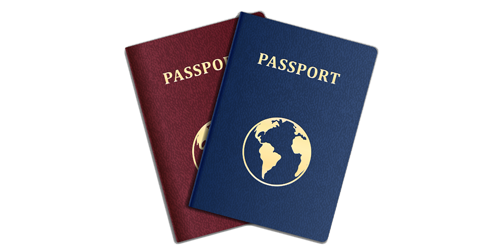 Click for Passport Information