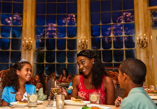 Be Our Guest Dining in Fantasyland